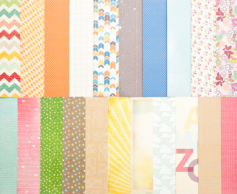 Add-on Patterned Paper - March 2013