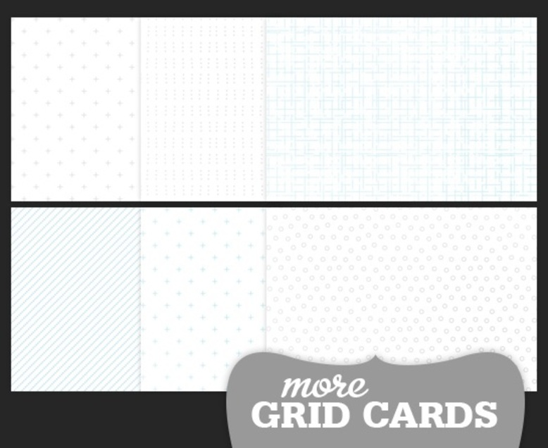 "4x6"" More Grid Cards"