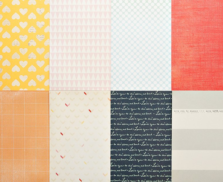 More Patterned Paper - May 2013