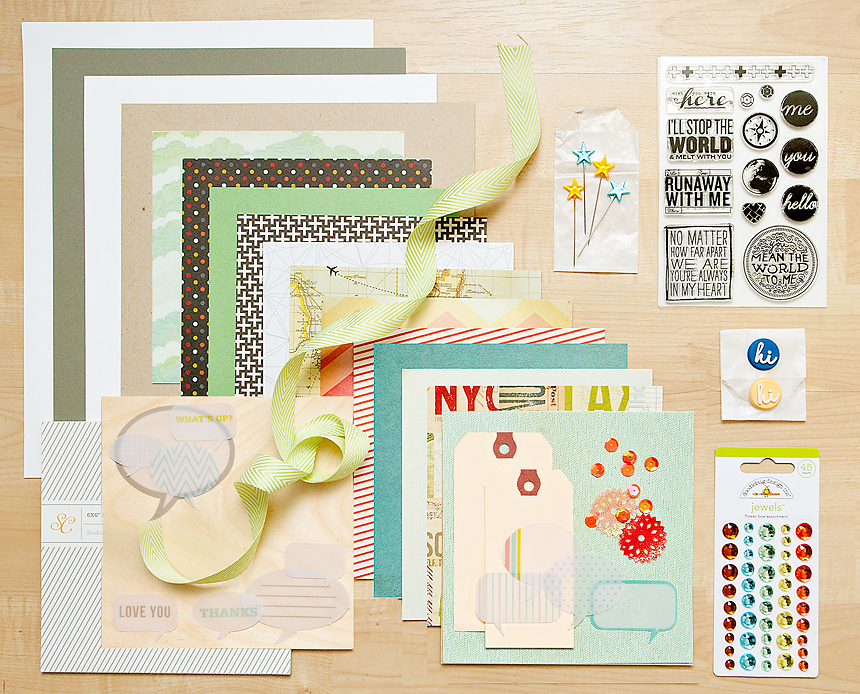 Picture 1 of ROUNDABOUT Card Kit
