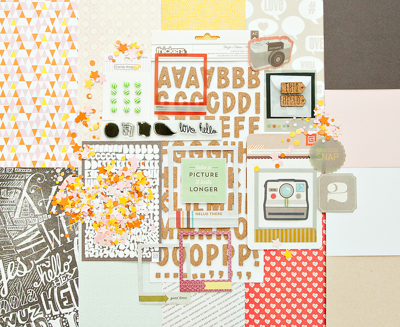 VALLEY HIGH Scrapbook Kit