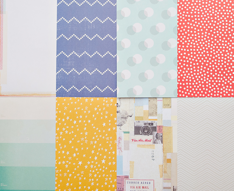 More Patterned Paper - August 2013