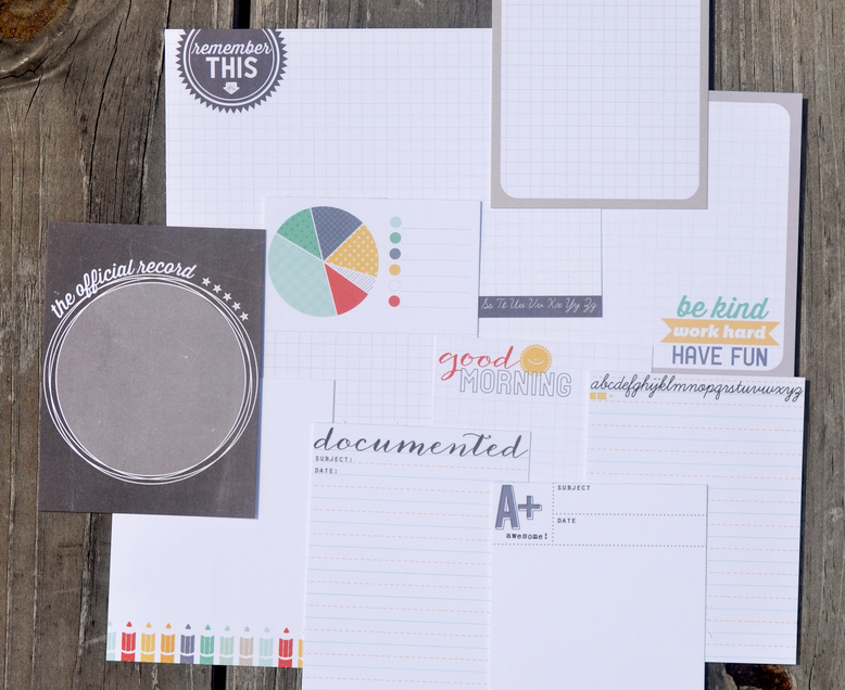 School Cards by In A Creative Bubble