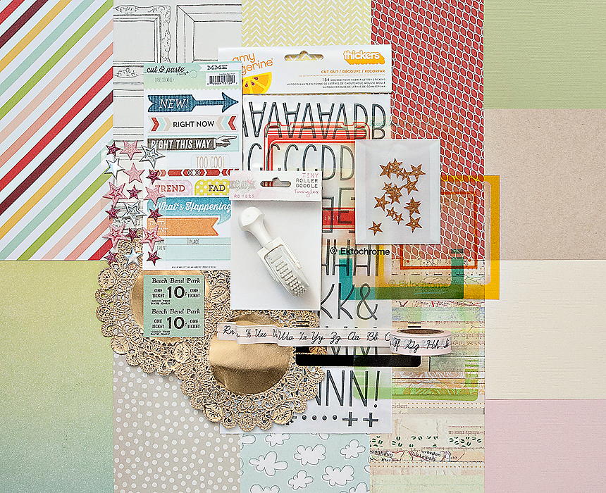 Picture 1 of DOUBLE SCOOP Scrapbook Kit