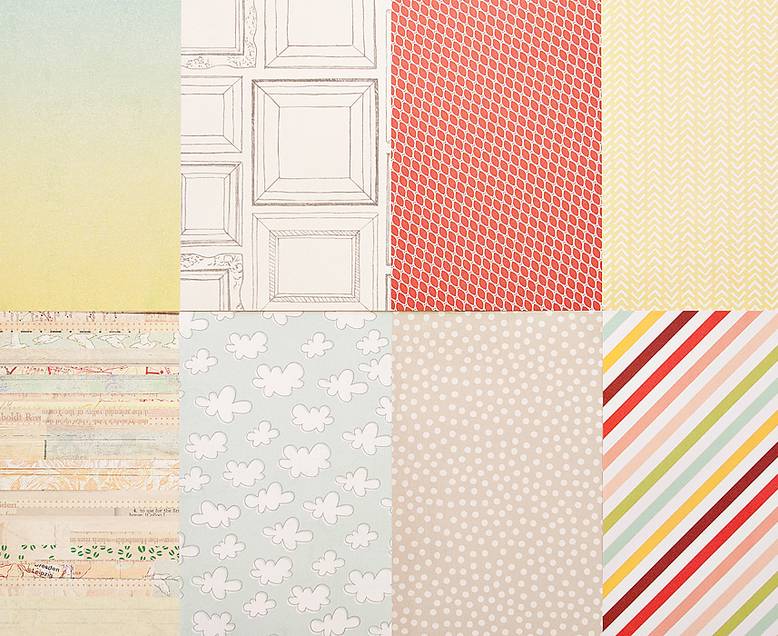 More Patterned Paper - September 2013