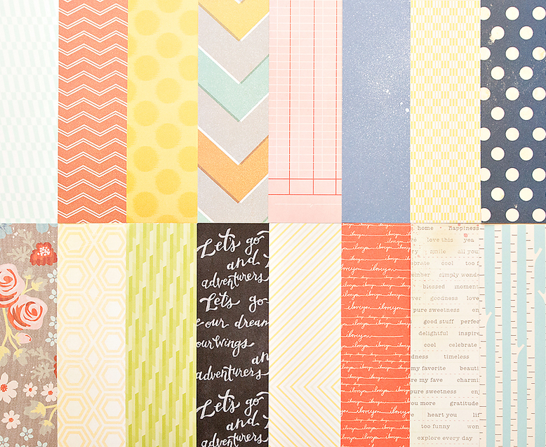 Add-on Patterned Paper - September 2013