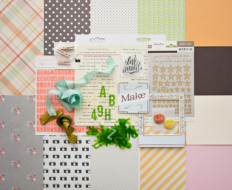 ANTIQUARY Scrapbook Kit