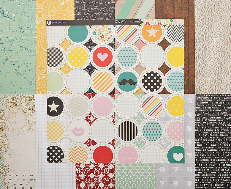 Add-on Patterned Paper - November 2013