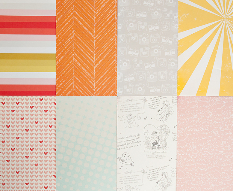 More Patterned Paper - February 2014