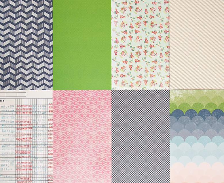 More Patterned Paper - March 2014