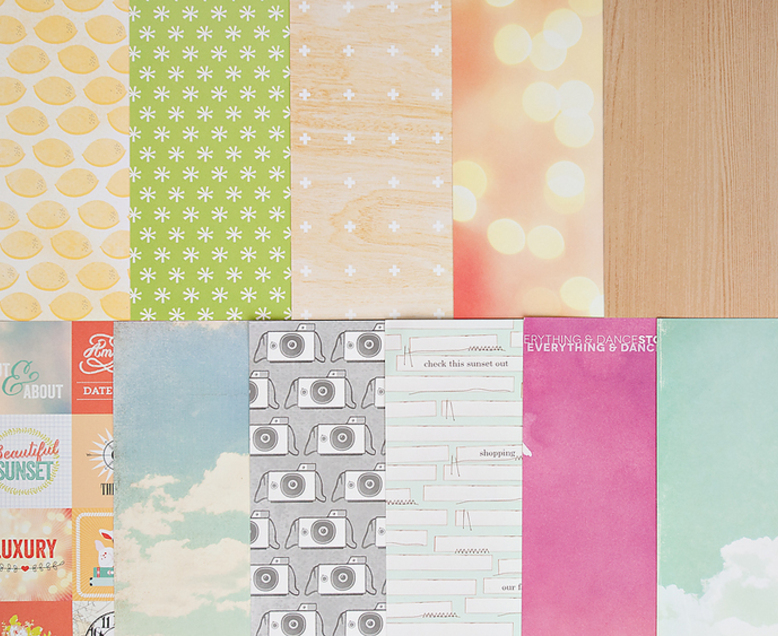 Add-on Patterned Paper - March 2014