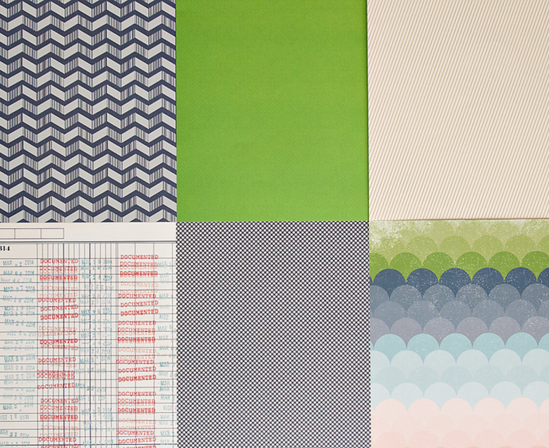 SC Patterned Paper - March 2014