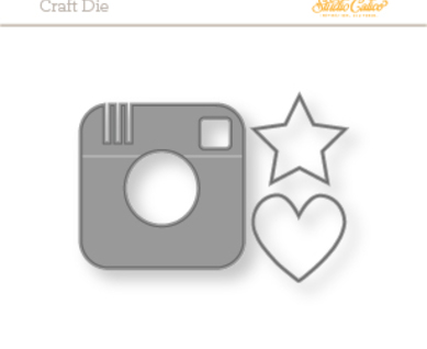 91133 instagram camera metal die d2 04