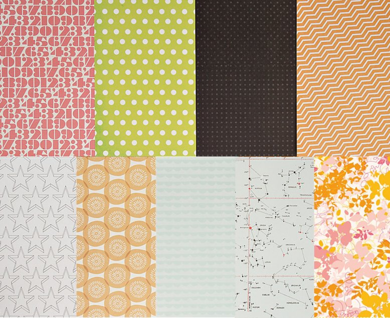 Add-on Patterned Paper - April 2014