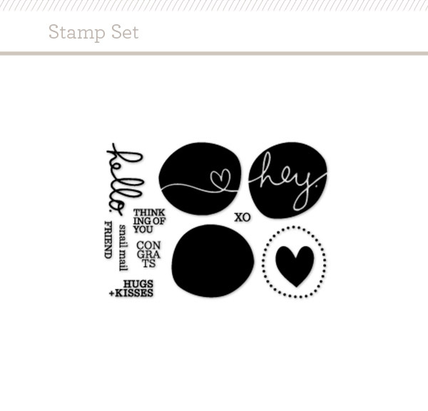 "Picture 1 of 4x3"" Circles Stamp Set by Splendid Fiins"
