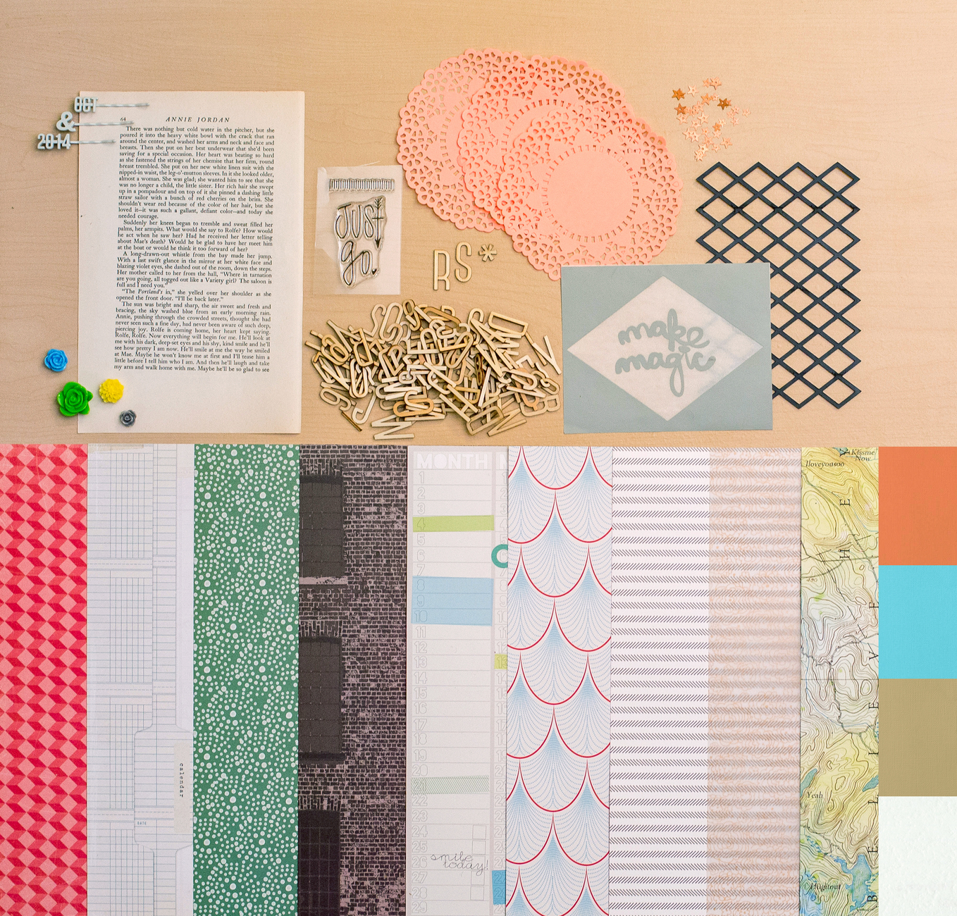 Picture 1 of THE UNDERGROUND Scrapbook Kit
