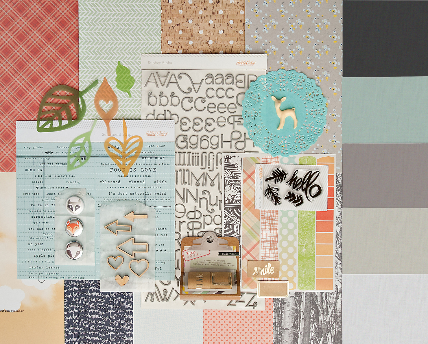 Picture 1 of WALDEN Scrapbook Kit