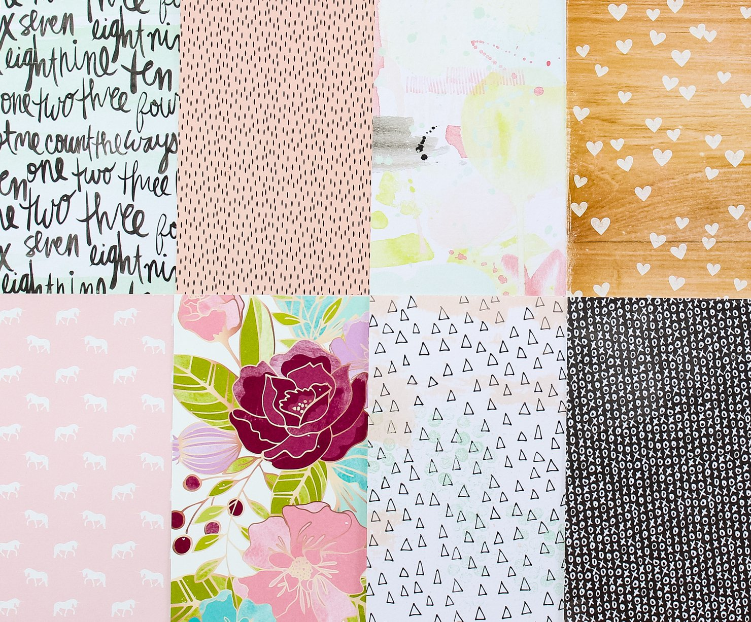 Picture 1 of Add-on Patterned Paper - February 2015