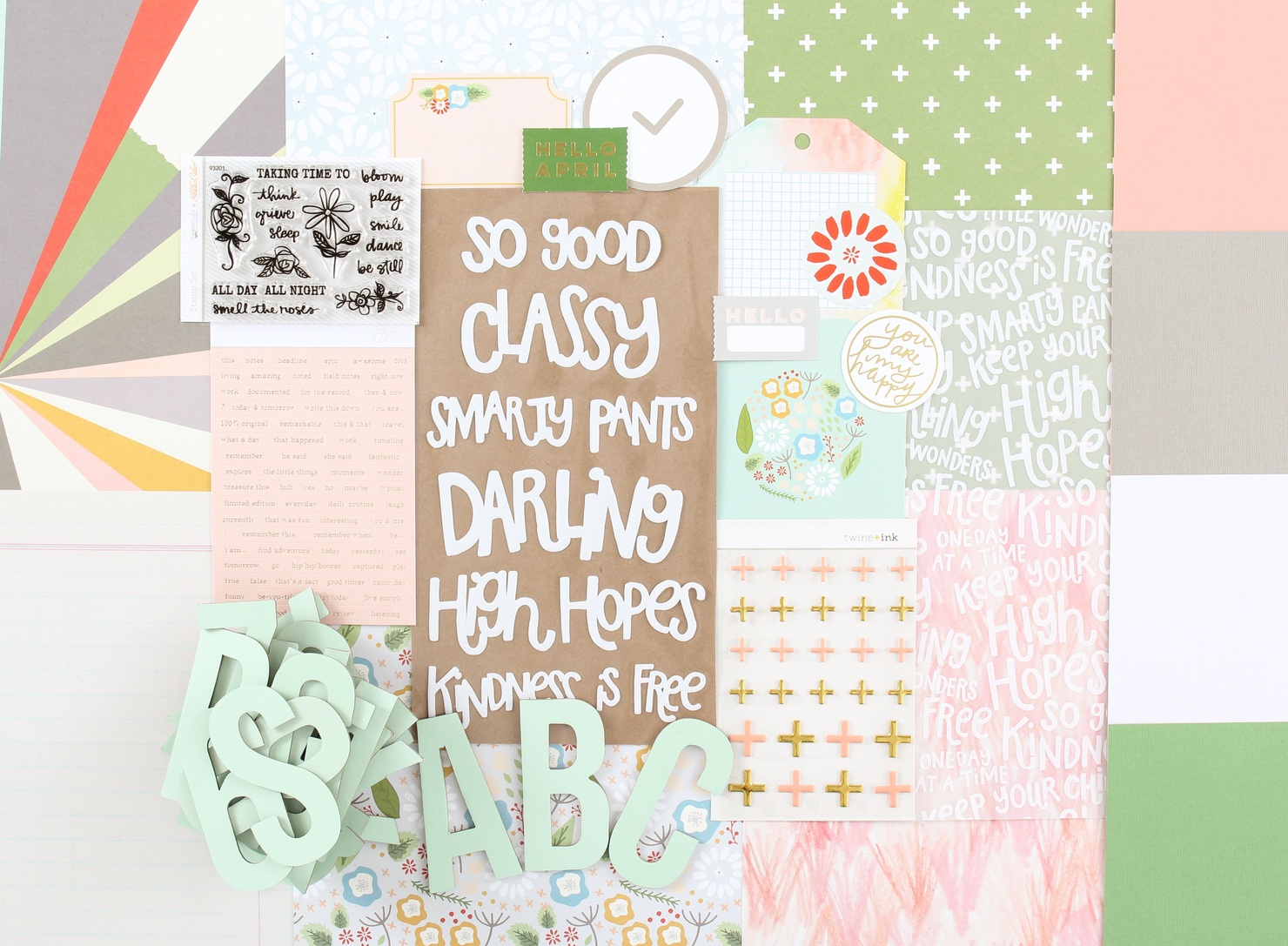 Picture 1 of Lisse Street Scrapbook Kit