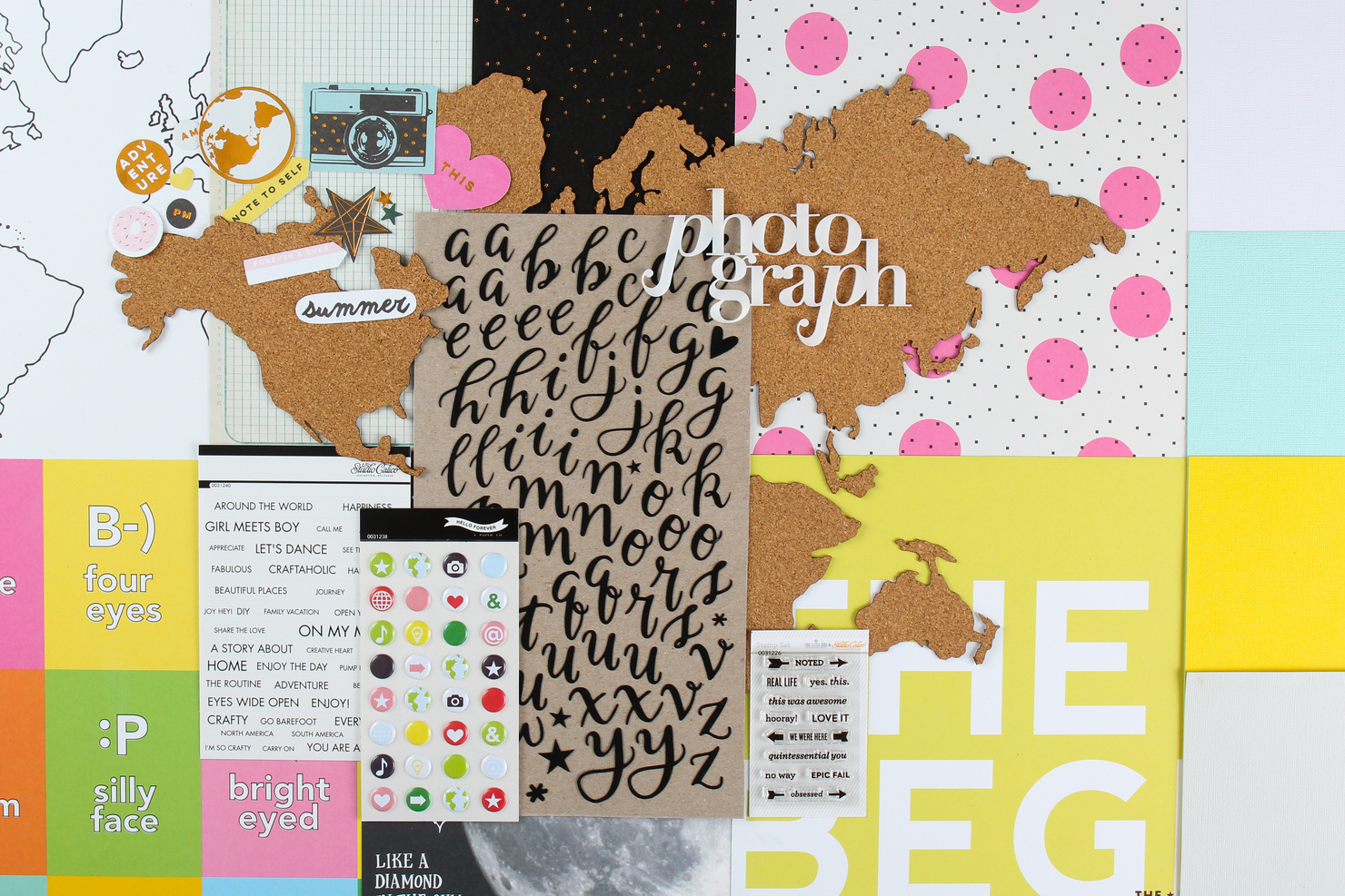 Picture 1 of GALILEO Scrapbook Kit