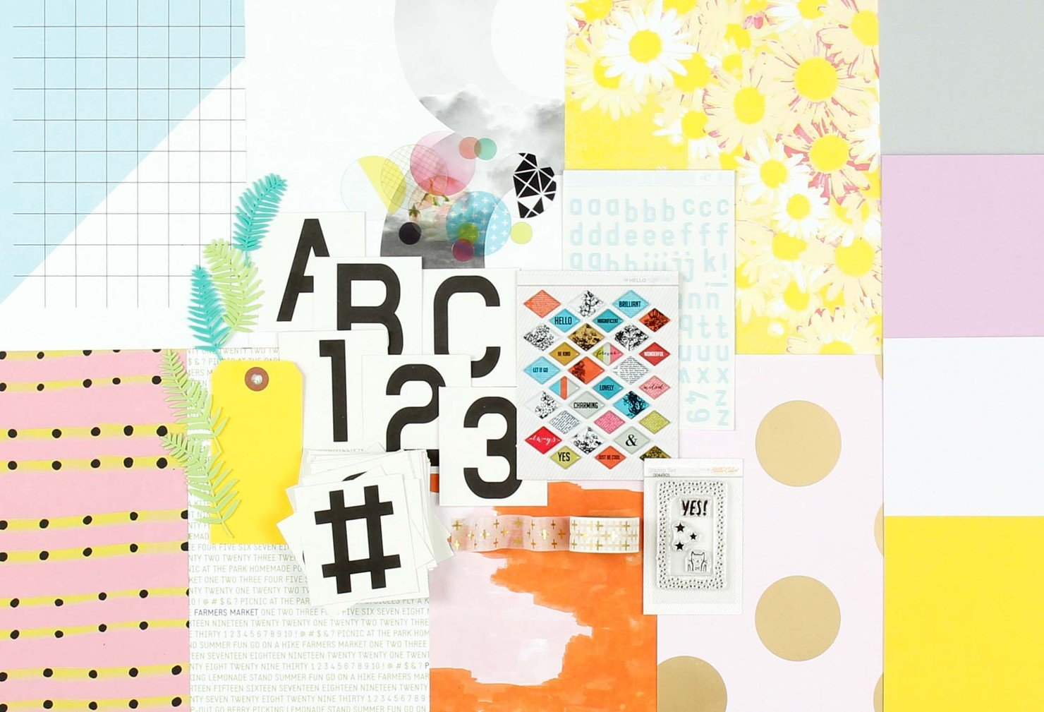Picture 1 of POP ART Scrapbook Kit