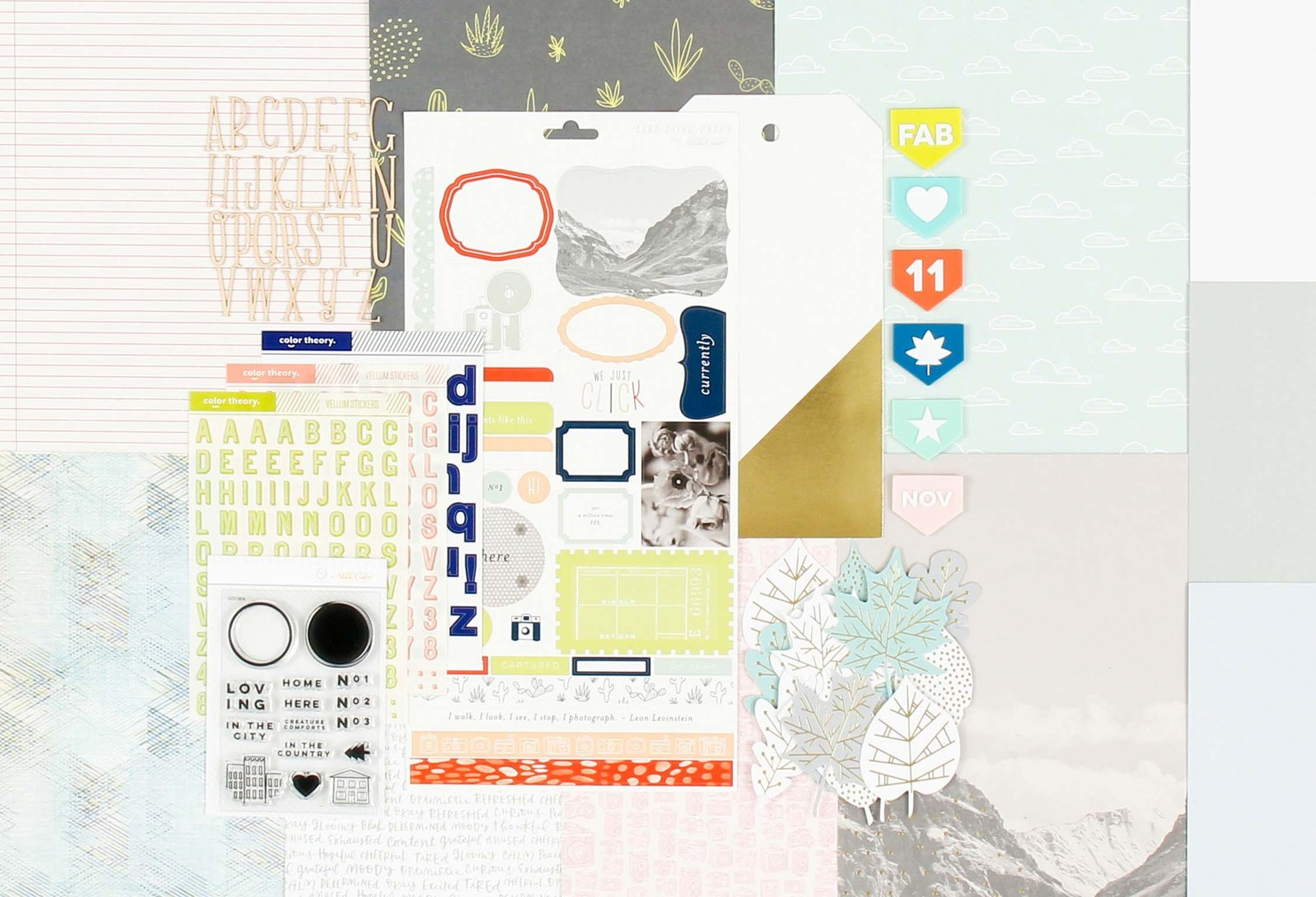 Picture 1 of Canyonlands  Scrapbook Kit