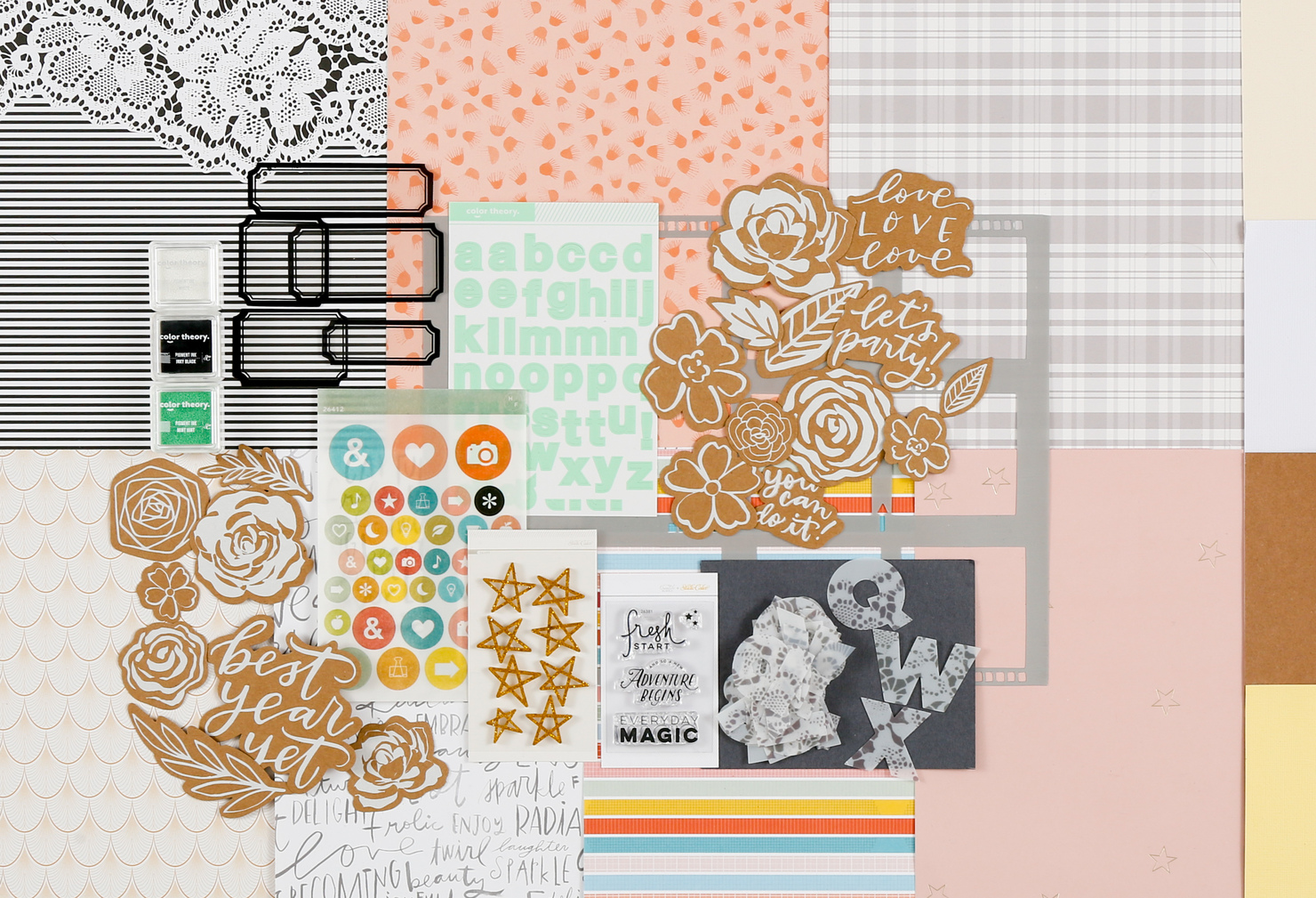 Picture 1 of Cypress Grove Scrapbook Kit