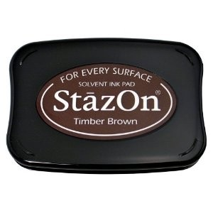 Picture 1 of StazOn Ink Pad - Timber Brown