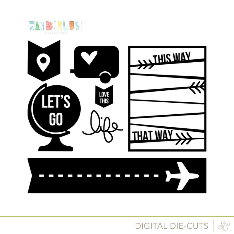 Picture 1 of Wanderlust Cut Designs