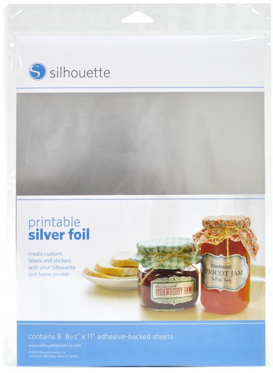 Picture 1 of Printable Silver Foil Adhesive