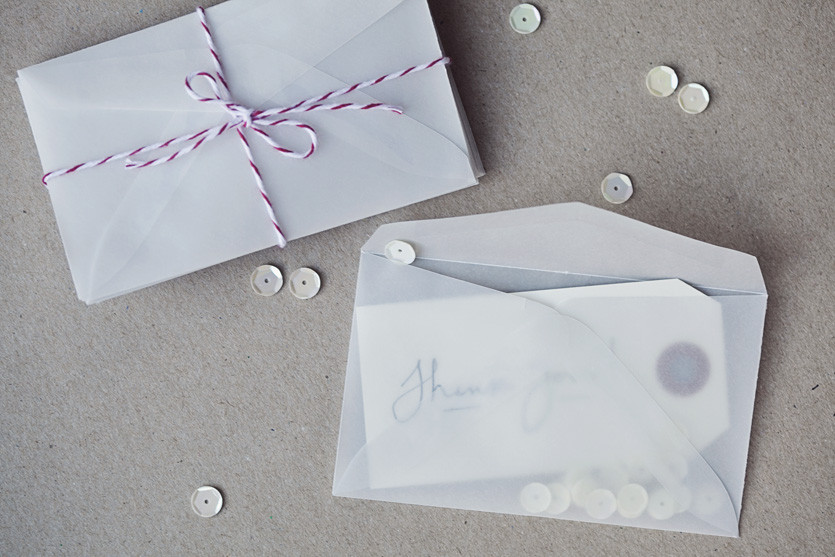 Picture 2 of Mini Vellum Envelopes