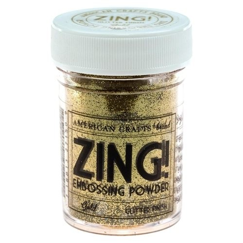 Picture 1 of Gold Zing Glitter