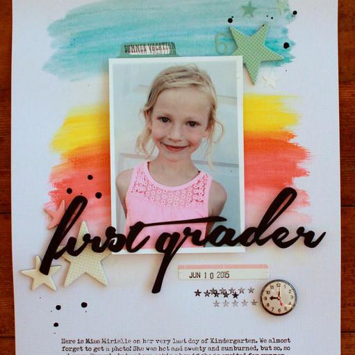 First grader emilyspahn original