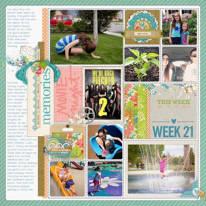Project Life Ideas 2015 Project Life 2015 Week 21 w