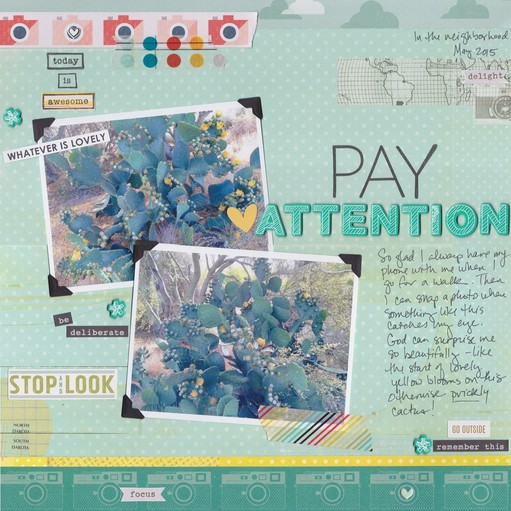 Pay attention 0001 original