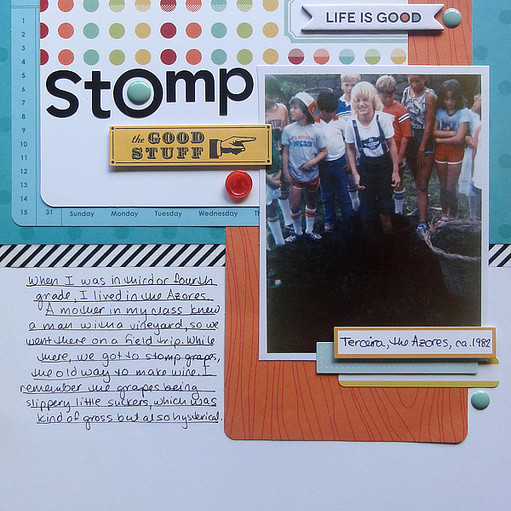 Stomp by jennifer larson original