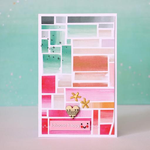 I choose happy card by natalie elphinstone original