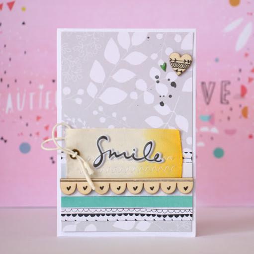 Smile card by natalie elphinstone original