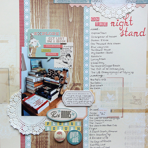 On the nightstand by jennifer larson original
