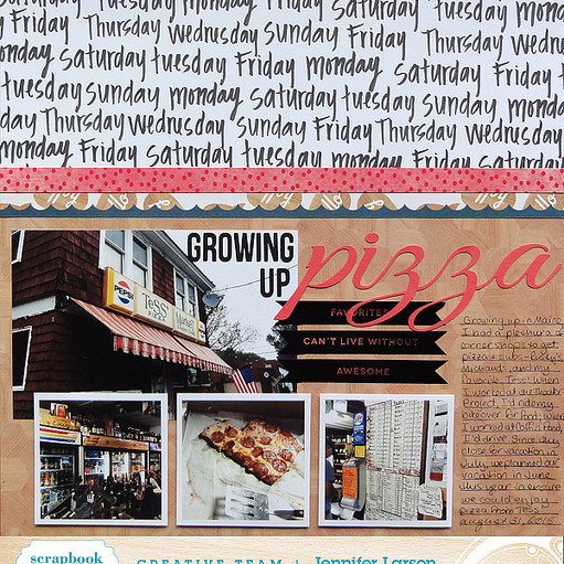 Growing up pizza by jennifer larson ed original