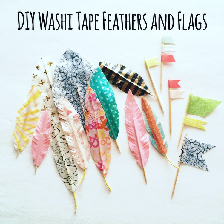 Washi Tape Feathers & Flags - Studio Calico