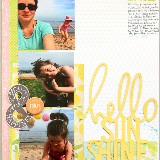 Hello sunshine by natalie elphinstone original