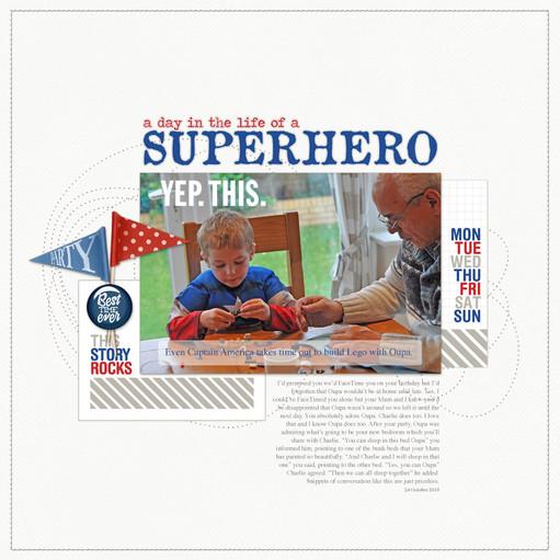 Superhero 800 original