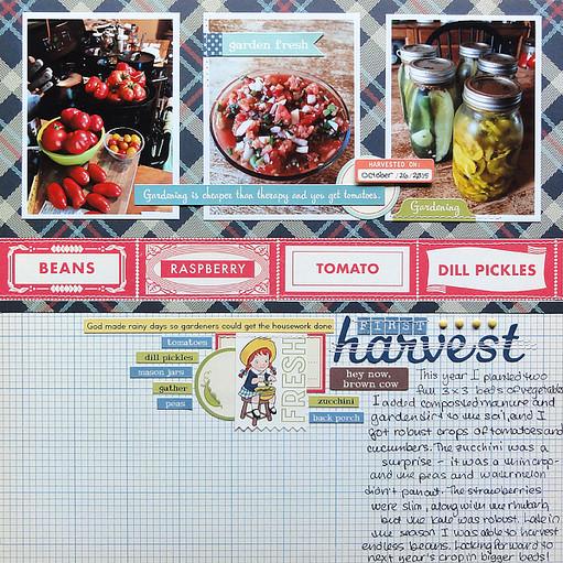 Jennifer larson first harvest original