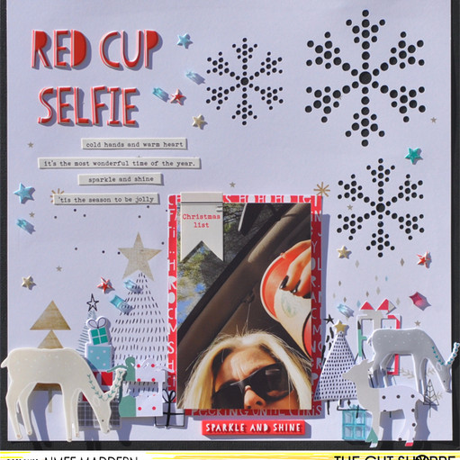 Red cup selfie original