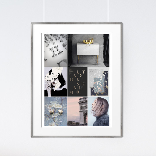 Monday mood board 45 mock up original