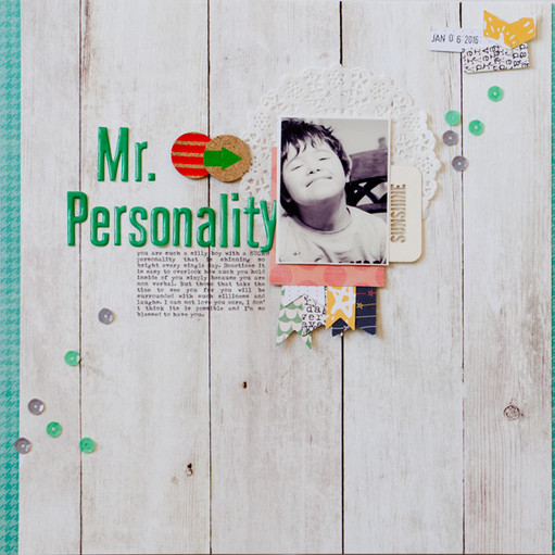 Mr personality original