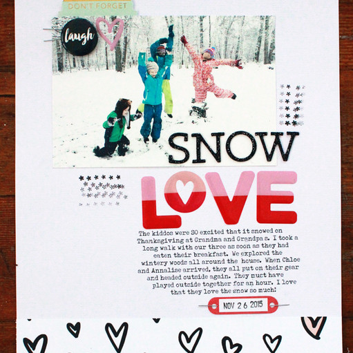 Snowlove emilyspahn original