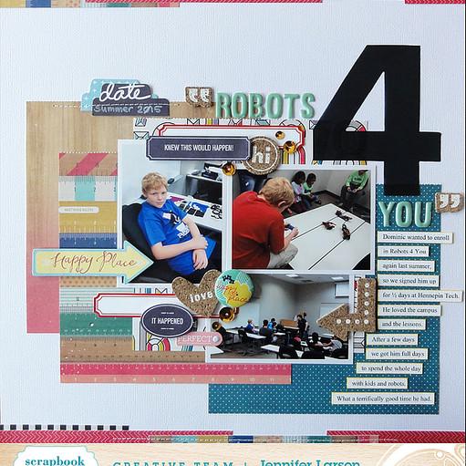 Robots 4 you by jennifer larson ed original