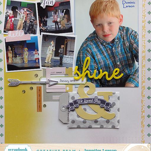 Shine by jennifer larson ed original